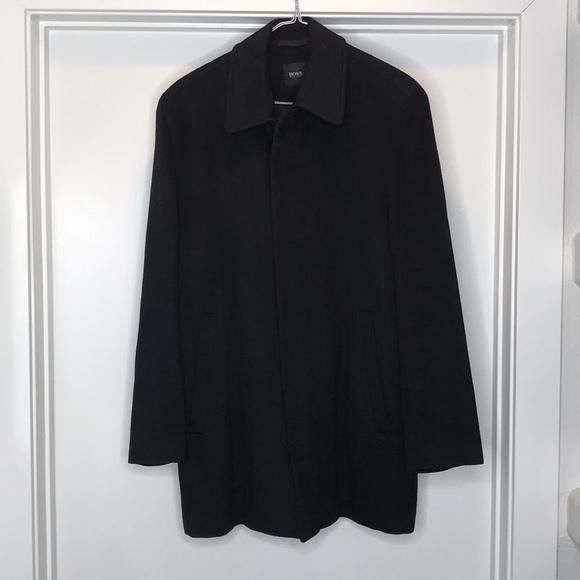 f12600a4a Hugo Boss Jackets & Coats   Wool Coat Size 48   Poshmark